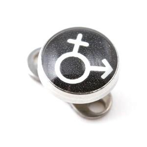Logo Mujer / Hombre para Piercing Microdermal