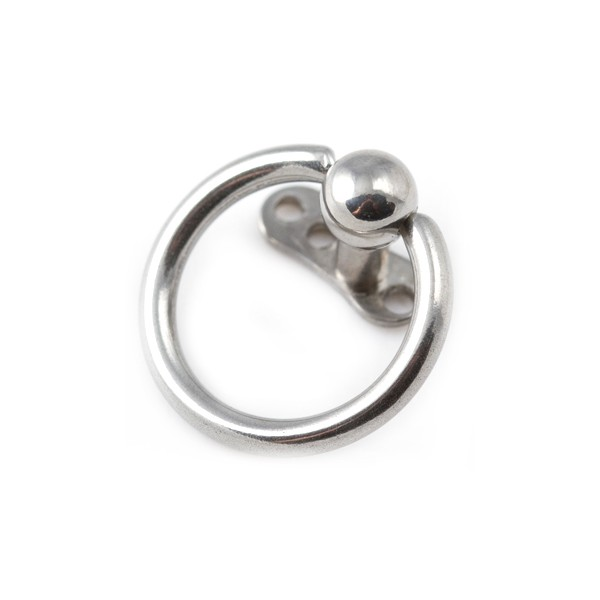 316l Surgical Steel Captive Bead Ring Top For Microdermal Piercing