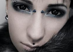 Double eyebrow piercing 2